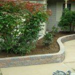 Fredericton Landscaping Shrub Walkway